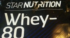 Test: Star Nutrition Whey-80 – Schokolade