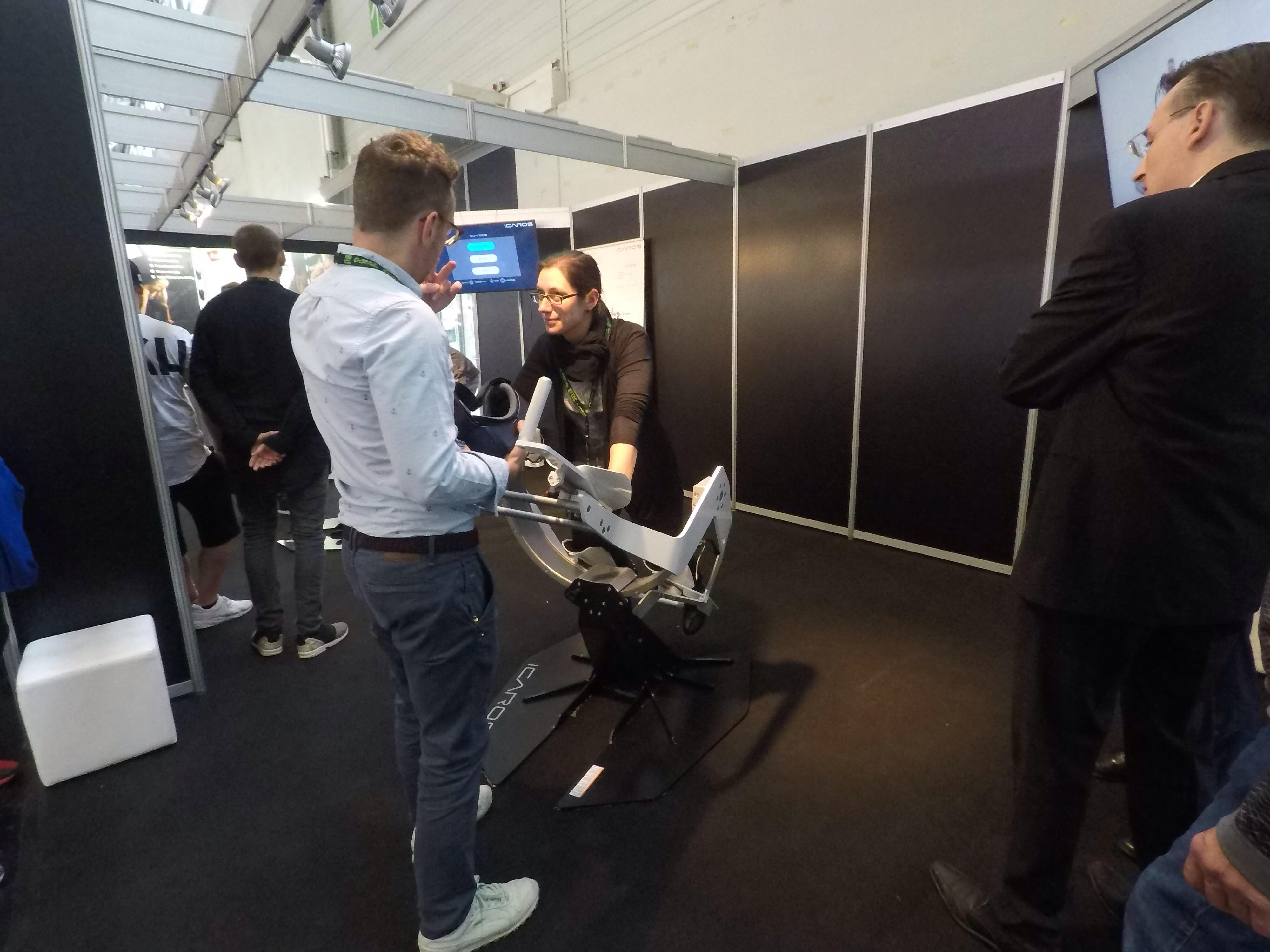VR Flugsimulator