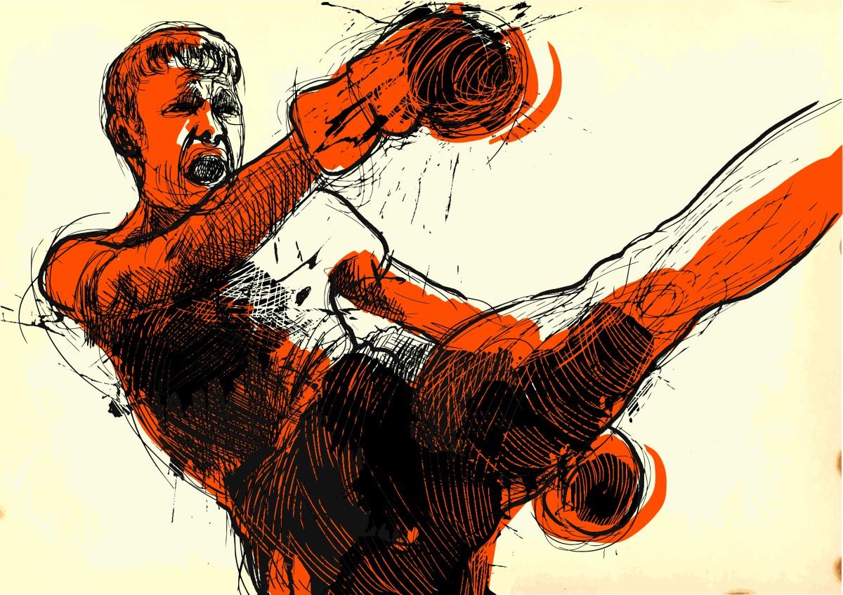 muay – kickboxing