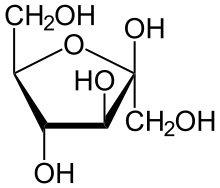 220px-Beta-D-Fructofuranose