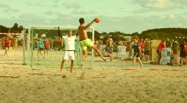 Trendsportart Beachhandball